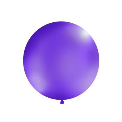 Balionas 1m skersmens violetinis
