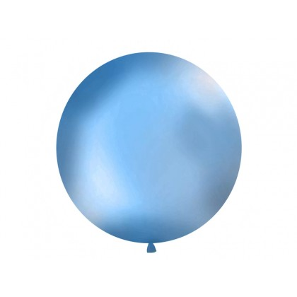 Balionas 1m skersmens šviesiai mėlynas