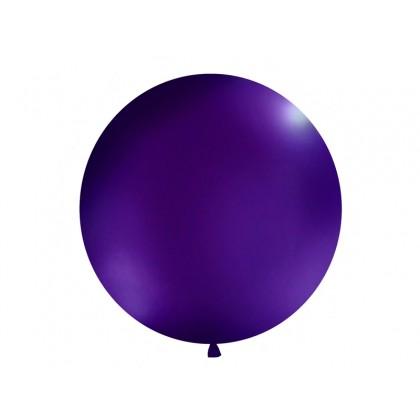 Balionas 1m skersmens tamsiai violetinis