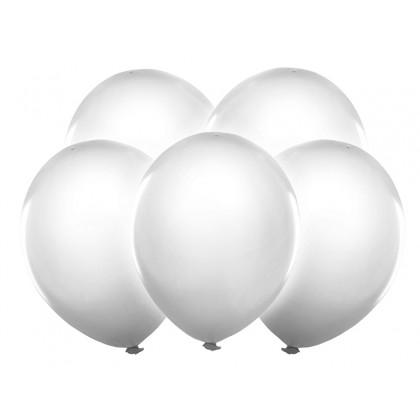 Balionai LED balti 5 vnt