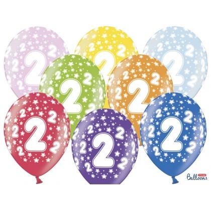 Balionai 2-as gimtadienis 30cm striprūs