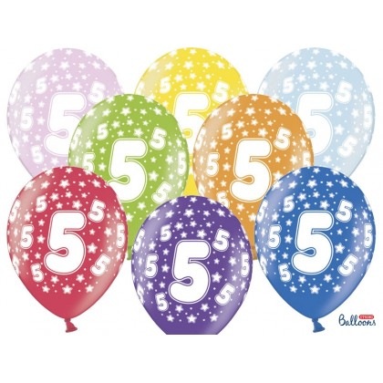 Balionai 5-as gimtadienis 30cm striprūs