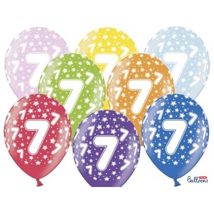 Balionai 7-as gimtadienis 30cm striprūs