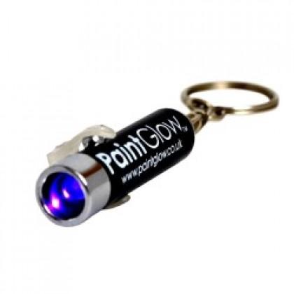 UV žibintuvėlis - raktų pakabukas